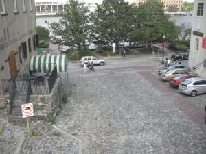 savannah cobblestone street