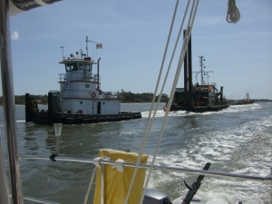 passing tug and tow