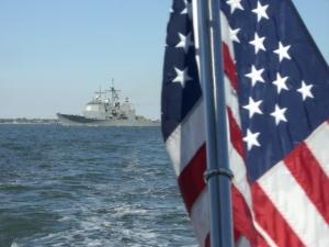 warship Norfolk VA Oct 2010