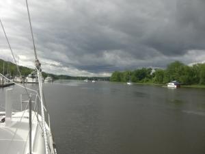 Pre-storm at D.R Marina