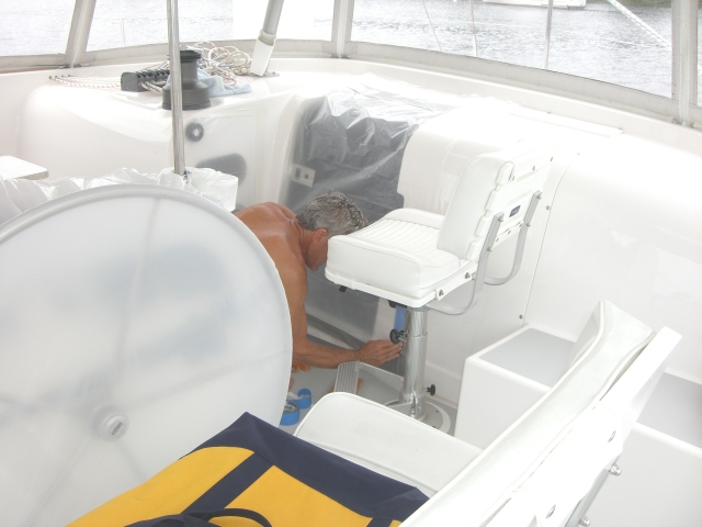 Cockpit wrapped