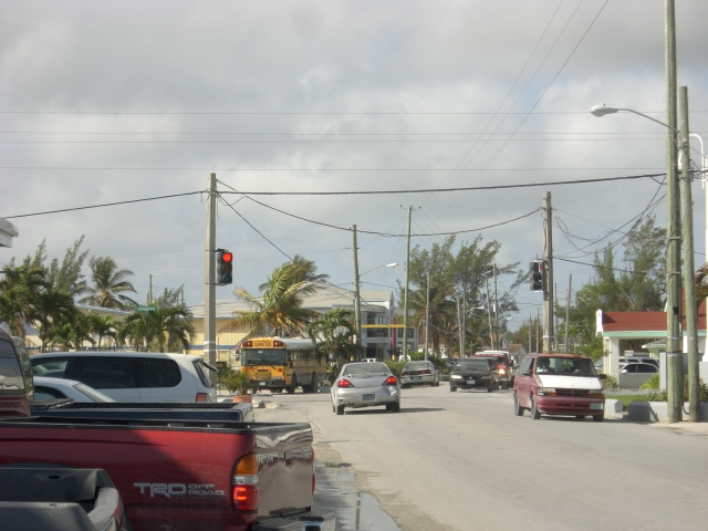 A Bahamian one light town