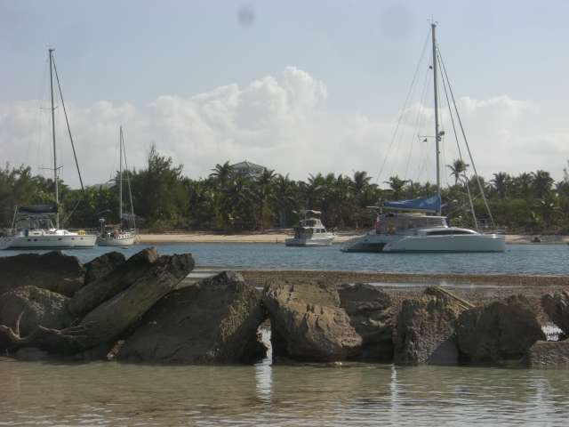 Little Harbour at low tide