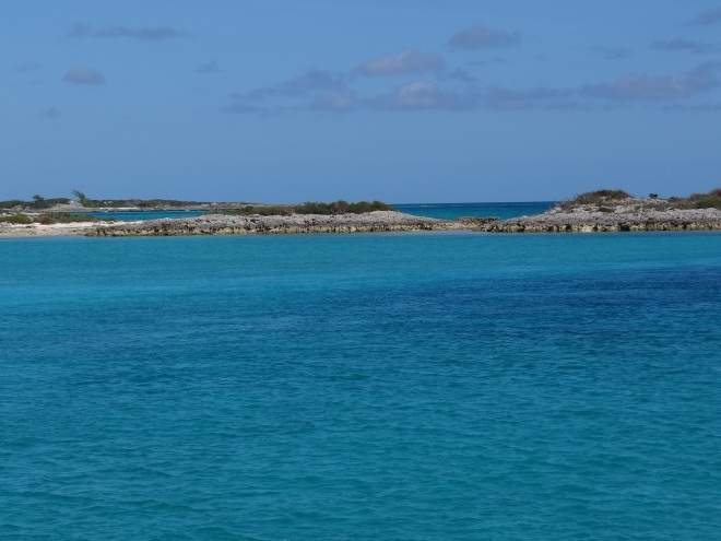 Elf Cay and site of the Lobster Hunter's first challenge.