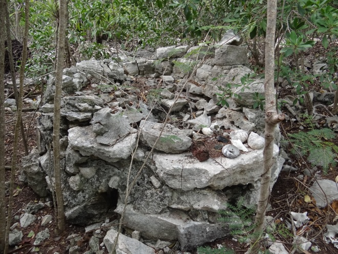 Beehive oven at Russell Ruins- Hawksbill Cay