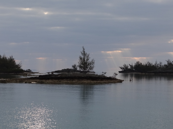 Morning unfolds over Archer Cay