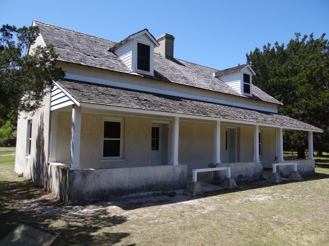 Oldest structure on Cumberland Island, c1800