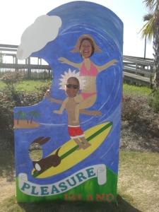 Surfin' at Carolina Beach