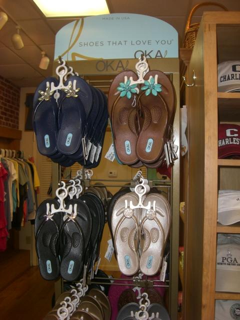 I discover Oka b sandals