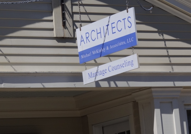 A very diverse firm- architects and marriage counseling a la Hope Springs