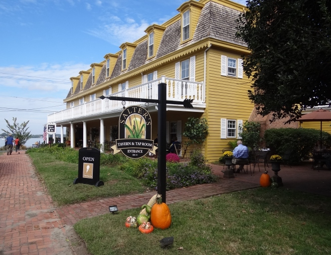 Robert Morris Inn and Salter's Tavern; a stone's throw from the ferry