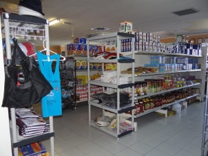 Spacious and well-stocked New Bight Market