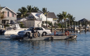 Car ferry service is provided by a Mennonite whose large family lives on North Eleuthera