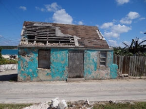 Several like this one were for sale on Cupid's Cay- maybe worth it for the land