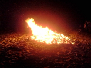 Bonfire- what shape do you see?