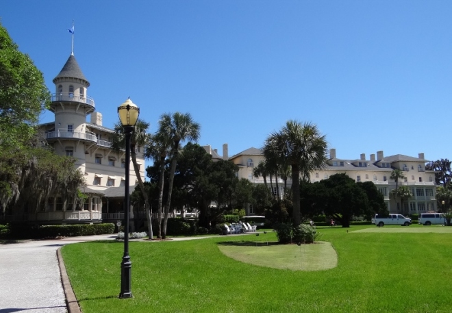Jekyll Island Club- no longer members-only exclusive. Inn, resort and fabulous dining. Pool too