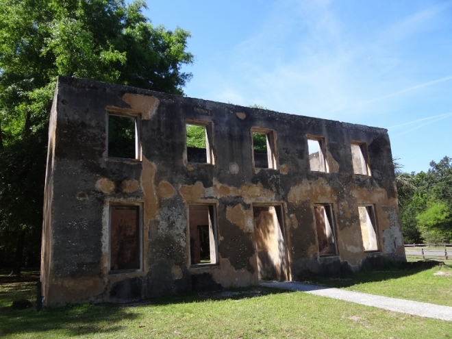 Horton House. Constructed of tabby and the only one of its era remaining