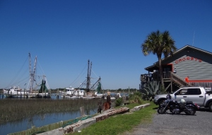 Shrimp boats ready and waiting for the season to begin