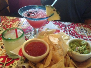 Dinner at Chili's. That is our free appetizer for signing up for emailed specials