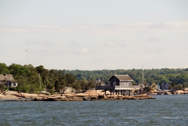 Got a great view of the Thimble Islands (Branford/Guilford line) as we sailed near shore on Friday