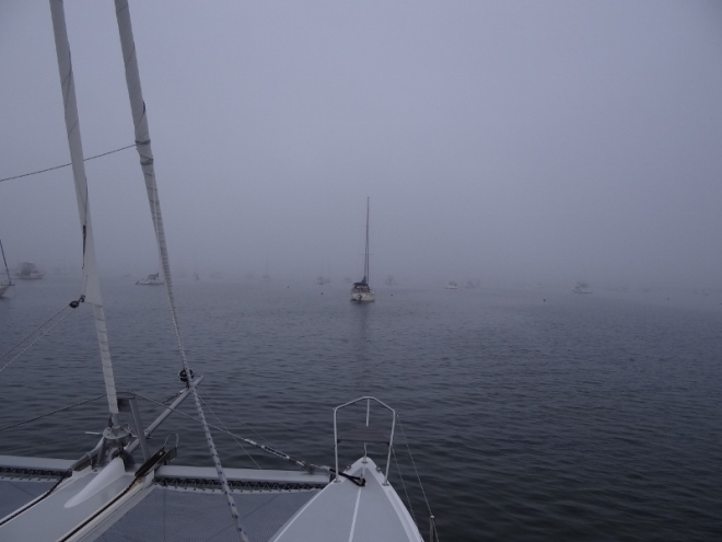 Fog is very common on Block Island