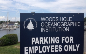 Woods Hole sign