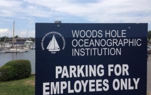 Woods Hole sign
