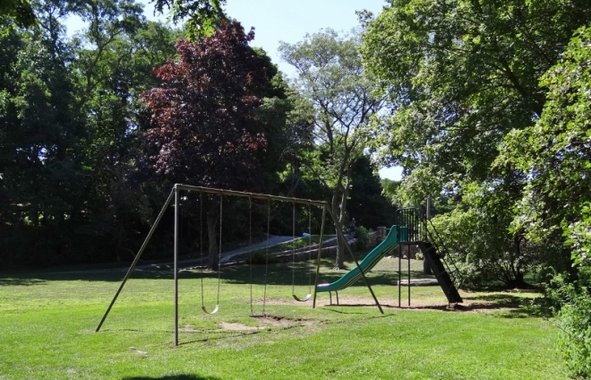 Don't see this anymore: a swing set from your childhood