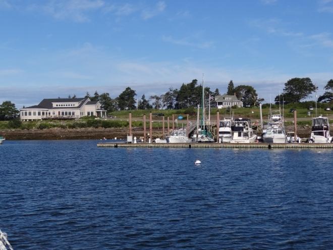 Dolphin Marina and Restaurant (on left)