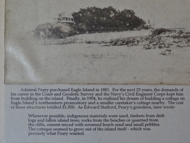 This tells about Eagle Island and Peary's purchase