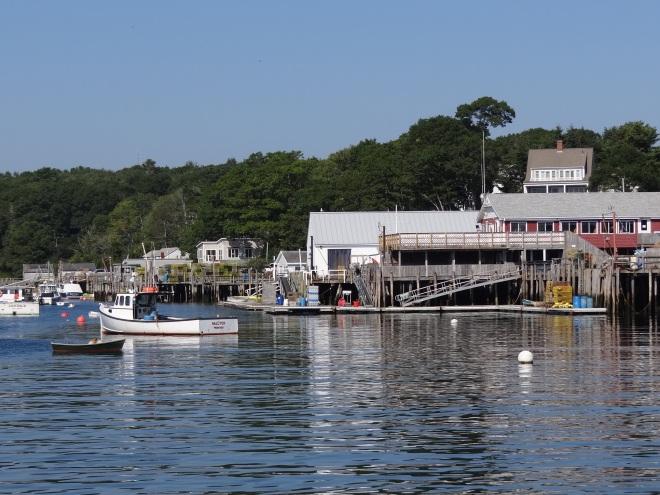New Harbor on Pemaquid's eastern side