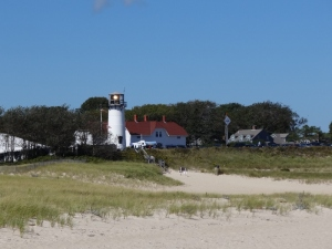 Chatham lighthouse- note the light got caught in the act