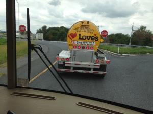 Follow that fuel tanker!