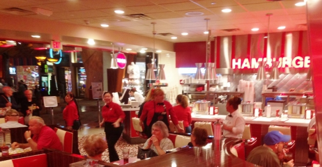 """The waitstaff gets """"RESPECTed"""" at Johnny Rockets"""