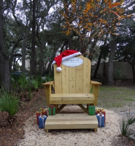 We heard that Santa's first stop is at Jekyll Island