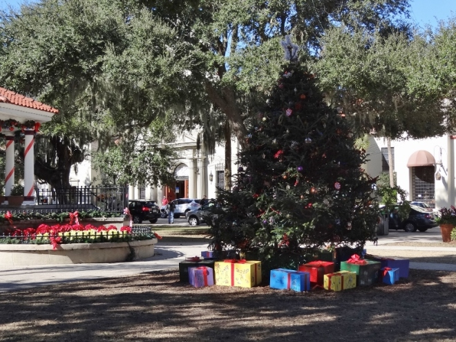 Maybe Santa stops at St. Augustine first....
