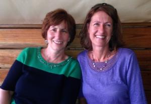 Linda and I- happy ladies at Coconuts