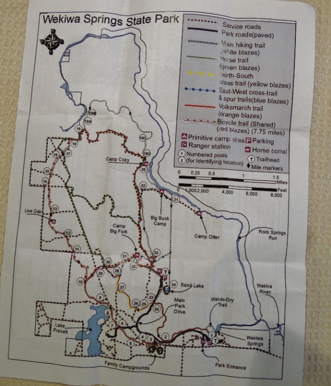 So many trails! See if you can find Sand Lake and the river camps to the north