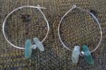 finally sea glass earrings