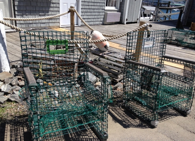 lobster traps recycling