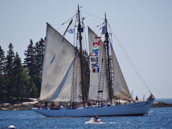 S/v Bowdoin 88'- built in Castine 1920 for Arctic explorer Adm Donald MacMillan