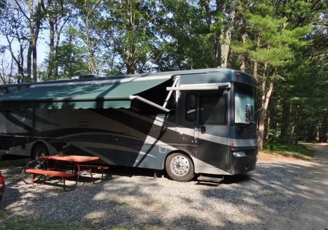 site 136A Pines Camping