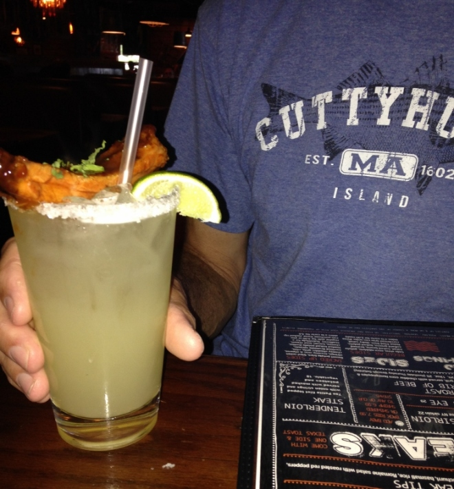 Buck Naked's over the top margarita
