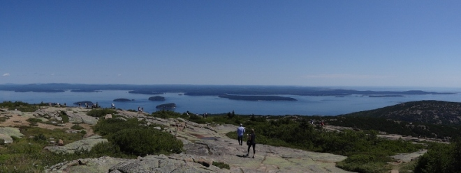 top of Cadillac mtn