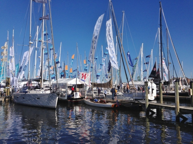 the sailboat show Oct 12