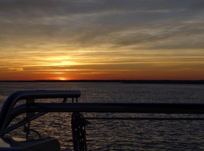 Ogeechee Rvr sunset