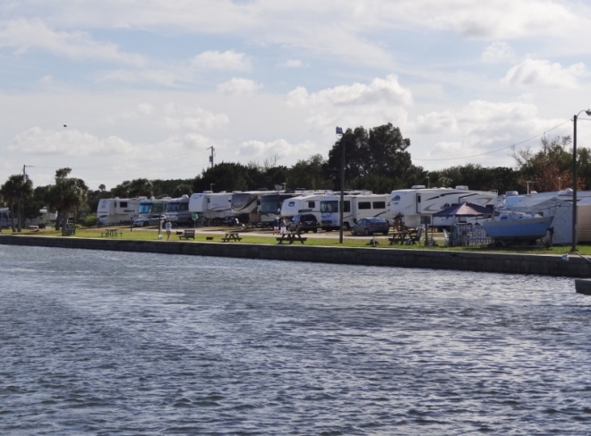 mosquito lagoon the perfect RV park