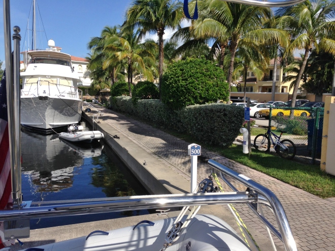 Our new home for a month- Loggerhead Marina