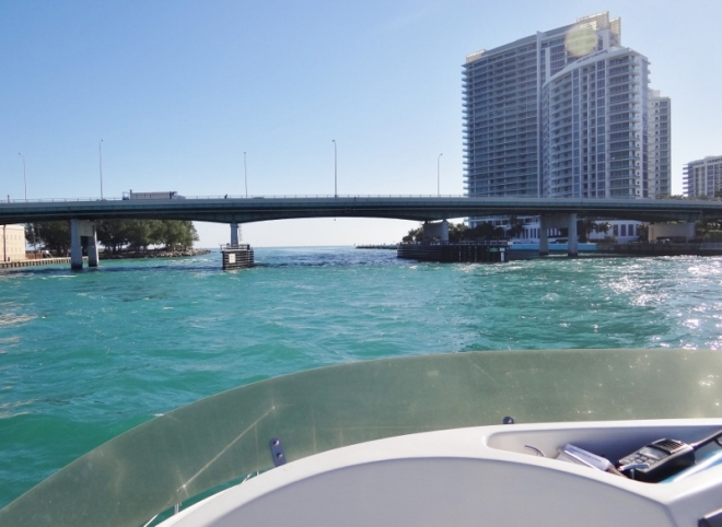 Collins Ave Bridge at Baker's Haulover