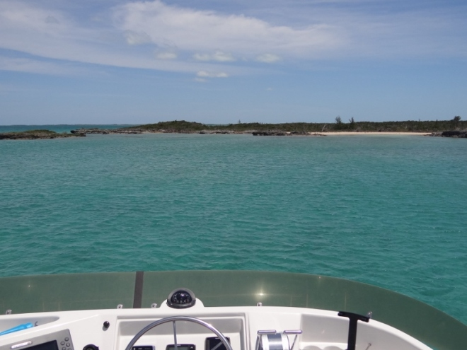 Arrive Little Cave Cay